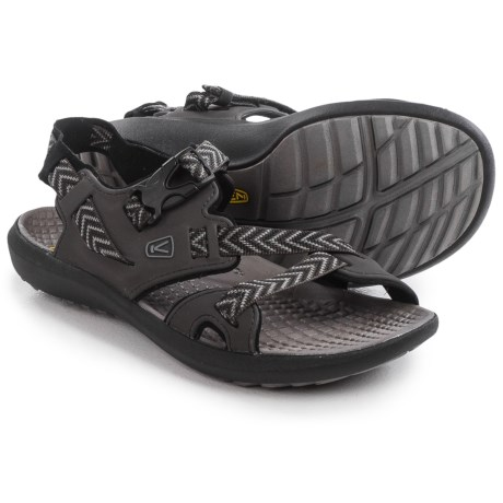 Keen Maupin Sport Sandals (For Men) in Raven/Gargoyle