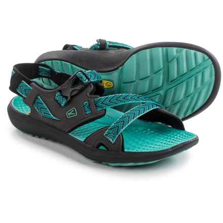 Keen Maupin Sport Sandals (For Women) in Raven/Lagoon - Closeouts