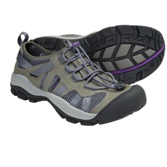 Keen McKenzie Multi-Sport Shoes (For Women) in Gargoyle/Purple Heart
