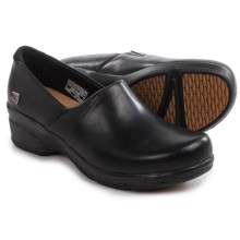 Keen Mora Clogs - Leather (For Women) in Black - Closeouts