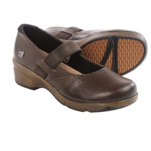 Keen Mora Mary Jane Shoes - Leather (For Women) in Cascade Brown - Closeouts