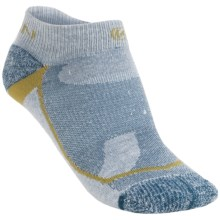 Keen Mt. Airy Low Light Socks - 3-Pack (For Women) in Natural/Moroccan Blue - 2nds