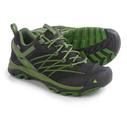 Keen Nasu Disc Hiking Shoes - Waterproof (For Men) in Treetop/Black - Closeouts