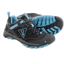 Keen Nasu Trail Shoes - Waterproof (For Women) in Black/Alaska Blue - Closeouts