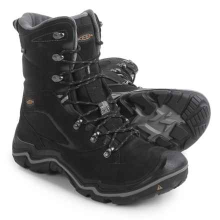 Keen Neve Snow Boots - Waterproof, Insulated (For Men) in Black - Closeouts