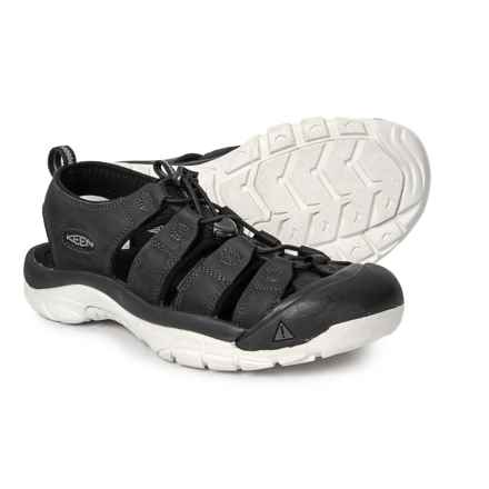 94f81ebeaa46 Keen Newport ATV Sandals (For Men) in Black Star White - Closeouts