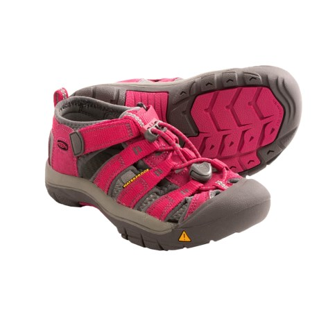 Keen Newport H2 Multi-Sport Sandals (For Kids) in Rose Red/Gargoyle