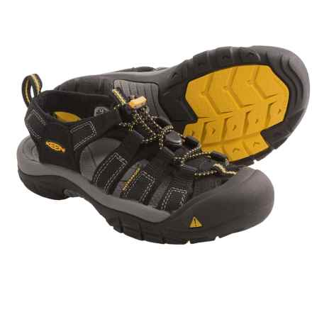 Keen Newport H2 Sandals (For Big Kids) in Black - Closeouts