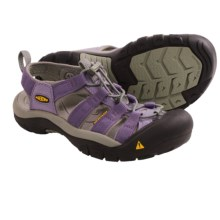 Keen Newport H2 Sandals (For Big Kids) in Neutral Grey/Purple Sage - Closeouts