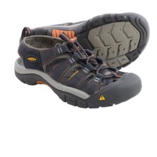 Keen Newport H2 Sandals (For Men) in India Ink/Rust - Closeouts