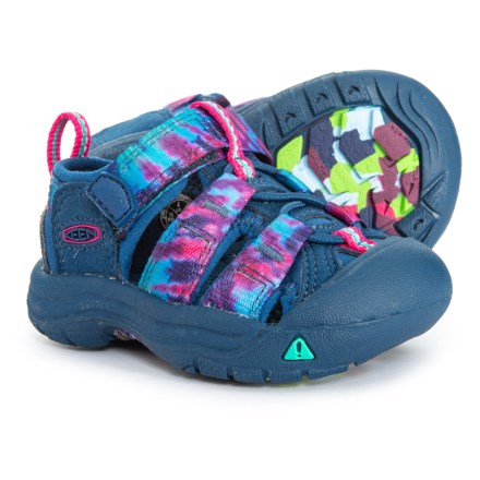 3394d26af70e Keen Newport H2 Sandals (For Toddler Girls) in Navy Tie Dye - Closeouts