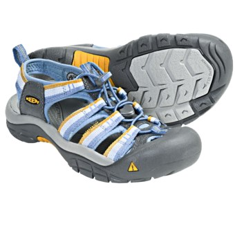 Keen Newport H2 Sandals (For Women) in Azure Blue Stripe