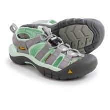 Keen Newport H2 Sandals (For Women) in Neutral Grey/Misty Jade - Closeouts