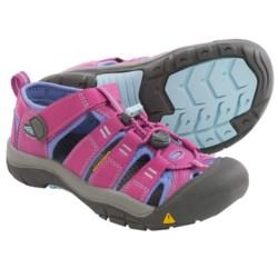 Keen Newport H2 Sport Sandals (For Big Kids) in Dahlia Mauve/Periwinkle