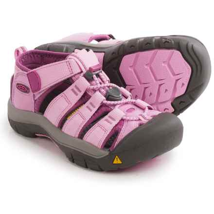 Keen Newport H2 Sport Sandals (For Little and Big Kids) in Lilac Chiffon/Dahlia Mauve - Closeouts