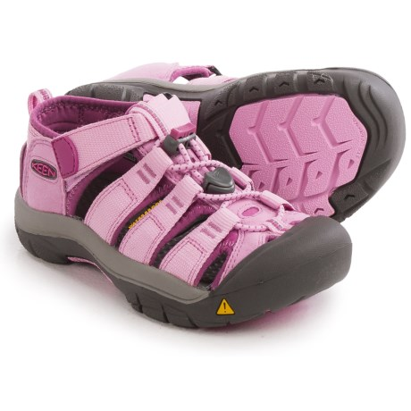 Keen Newport H2 Sport Sandals (For Little and Big Kids) in Lilac Chiffon/Dahlia Mauve