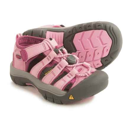 Keen Newport H2 Sport Sandals (For Toddlers) in Lilac Chiffon/Dahlia Mauve - Closeouts