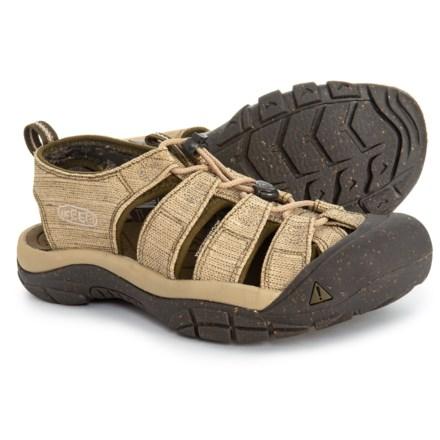 f1ce9b1b083 Keen Newport Retro Sandals (For Men) in Hemp Dark Olive - Closeouts