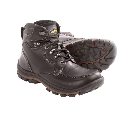 Keen NoPo Boots - Waterproof, Leather (For Men) in Black Full Grain