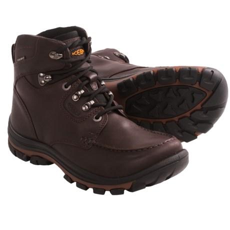 Keen NoPo Boots - Waterproof, Leather (For Men) in Brown Full Grain