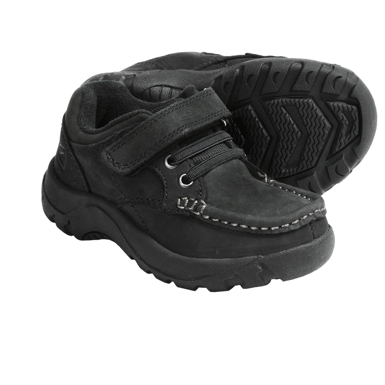 Keen Nopo Low Shoes - Nubuck (For Kids) in Black