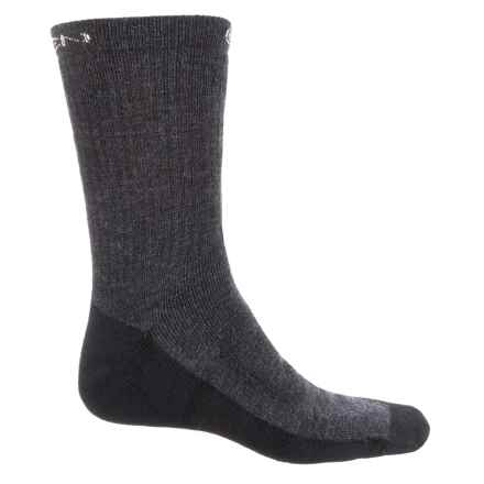Keen North Country Medium Hiking Socks - Merino Wool, Crew (For Men) in Charcoal/Black - Closeouts