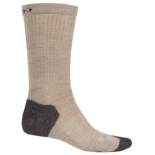 Keen Olympus Lite Crew Socks - Merino Wool (For Men) in Oatmeal - 2nds