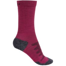 Keen Olympus Lite Crew Socks - Merino Wool (For Women) in Beet Red - 2nds