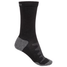 Keen Olympus Lite Crew Socks - Merino Wool (For Women) in Black - 2nds