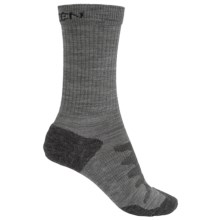 Keen Olympus Lite Crew Socks - Merino Wool (For Women) in Grey - 2nds