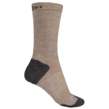 Keen Olympus Lite Crew Socks - Merino Wool (For Women) in Oatmeal - 2nds