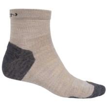Keen Olympus Lite Socks - Merino Wool, Quarter Crew (For Men) in Oatmeal - 2nds