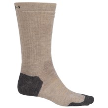 Keen Olympus Midweight Socks - Merino Wool, Crew (For Men) in Oatmeal - 2nds