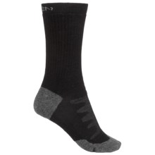 Keen Olympus Midweight Socks - Merino Wool, Crew (For Women) in Black - 2nds