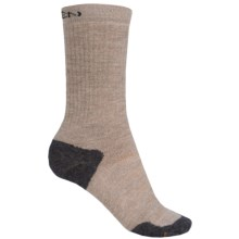 Keen Olympus Midweight Socks - Merino Wool, Crew (For Women) in Oatmeal - 2nds