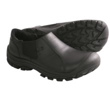 Keen Ontario Shoes - Leather, Slip-Ons (For Men) in Black - Closeouts