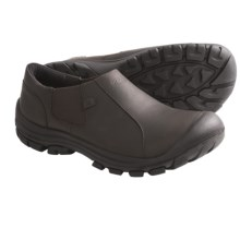 Keen Ontario Shoes - Leather, Slip-Ons (For Men) in Slate Black - Closeouts