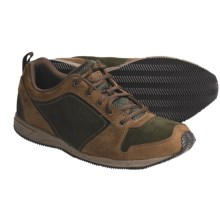 Keen P-Town Shoes - Leather-Suede (For Men) in Dark Earth/Forest Night - Closeouts
