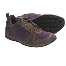 Keen P-Town Shoes - Leather-Suede (For Women) in Shitake/Sweet Grape - Closeouts
