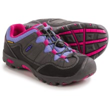 Keen Pagosa Low WP Trail Shoes - Waterproof (For Toddlers) in Magnet/Periwinkle - Closeouts