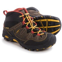 Keen Pagosa Mid WP Hiking Boots - Waterproof (For Little and Big Kids) in Cascade Brown/Tawny Olive - Closeouts