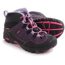 Keen Pagosa Mid WP Hiking Boots - Waterproof (For Toddlers) in Blackberry/Bougainvillea - Closeouts