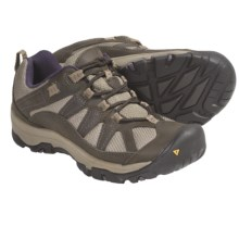 Keen Palisades Trail Shoes - Nubuck (For Women) in Black Olive/Sweet Grape - Closeouts