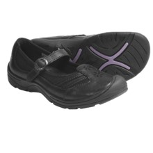 Keen Paradise Mary Jane Shoes - Leather (For Women) in Black - Closeouts