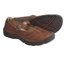 Keen Paradise Mary Jane Shoes - Leather (For Women) in Bombay Brown - Closeouts