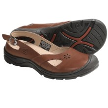 Keen Paradise Shoes - Leather, Slip-Ons (For Women) in Bombay Brown - Closeouts