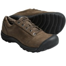 Keen Pearson Lace Shoes - Waterproof, Nubuck (For Men) in Deep Chestnut - Closeouts