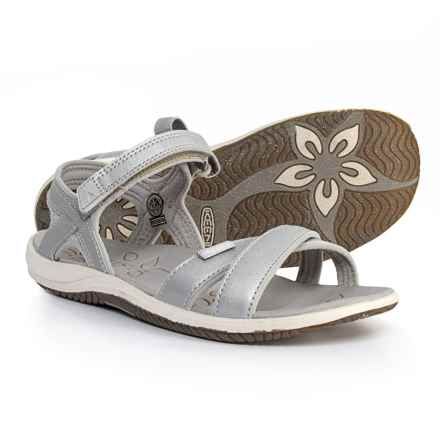 Keen Phoebe Sandals (For Little and Big Girls) in Silver - Closeouts