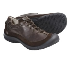 Keen Prescott Lace-Up Shoes - Leather (For Women) in Potting Soil - Closeouts