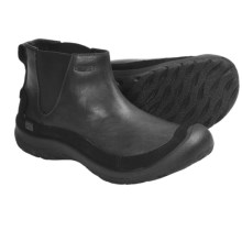 Keen Prescott Slip-On Boots - Leather (For Women) in Black - Closeouts